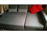 Sofa with a double bed - Very good condition!!