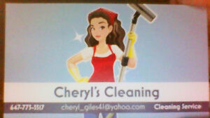 Cheryl's Cleaning