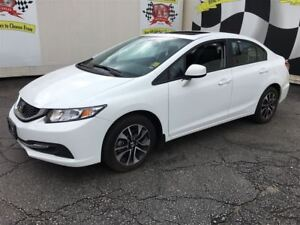 2013 Honda Civic EX, Automatic, Sunroof, Bluetooth, 58,000km