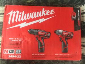 Milwaukee M12 combo kit *BRAND NEW