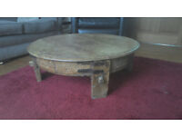 Lovely wooden coffee table with storage