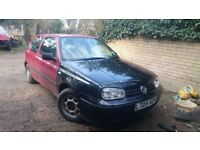 Vw Golf mk3 3.5 cabrio complete front end wings bumper lights debadged grill