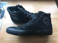 Converse All Star Black Hi-Tops - Size 11