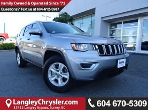2017 Jeep Grand Cherokee Laredo w/PADDLE SHIFTERS & PARKVIEW...