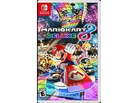 MARIO KART 8 DELUXE NINTENDO SWITCH BRAND AND SEALED
