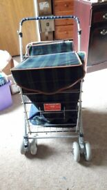 Sholley Trolley (shopping trolley aid)