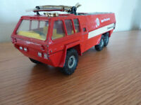 Vintage 1970s Corgi Pathfinder Airport Fire truck dinky matchbox