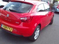 2014 Seat Ibiza 1.4 Toca 3dr 3 door Hatchback
