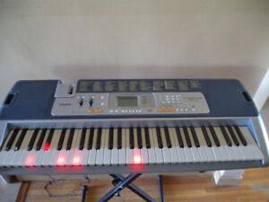 Casio LK-110 Lighted 61-Key MIDI Electronic Keyboard