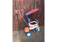 Smart trike , young child , ride on bike , possible delivery
