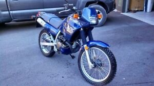 Honda nx250 liquid cooled