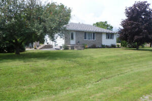 Three bedroom house for rent 15 min. north of Belleville on 37