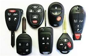 Chevrolet Car Truck Keys & Remotes - We Supply, Cut & Program!