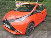 Toyota Aygo 1.0 X-Cite VVT-i 5DR (orange) 2014