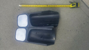 Chevy / GM Towing Mirrors Check tape at side for size comparison