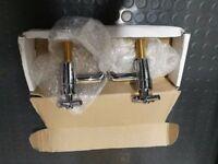New and boxed Classic Chrome bathroom taps (2)