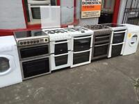 GAS ABD ELECTRIC COOKERS FOR SALE FROM £99 WITH 6 MONTH WARRANTY