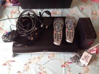 Latest Sky + HD box, wifi version complete set up