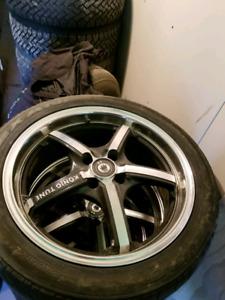 215/45/17   4 mag et  4 pneus