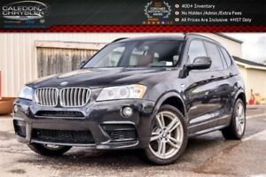 2014 BMW X3 xDrive28i|M-Sport|Pano Sunroof|Backup Cam|Bluetoot