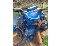 Ford tractor engine
