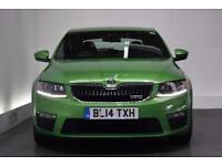 SKODA OCTAVIA 2.0 VRS TDI CR [LEATHER] 5d 181 BHP (green) 2014