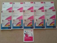 CIMA Certificate of business accounting course books