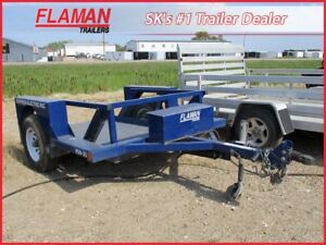 Air-Tow 8' Flat Deck - Ground Level Loading!