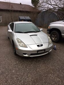As is. Toyota Celica GT
