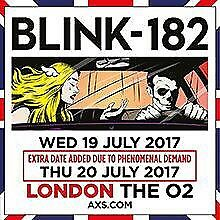 Blink 182 - 19th - STANDING - FACE VALUE