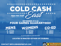 Cold Cash East -- WIN up to $1100
