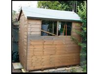 YET AGAIN - PRICE REDUCED - MUST BE GONE SOON - 7' x 5' Shed - under 1 year old