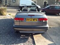 Saab convertible 2.0 L turbo £675 ONO