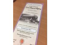 FLYING SCOTSMAN EXCURSION - WEDNESDAY 6th SEPTEMBER - BISHOPS LYDEARD / MINEHEAD