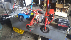 RAZOR Electro Scooters and little bikes all 24 Volt
