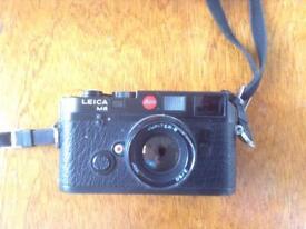 Leica M6 Rangefinder camera