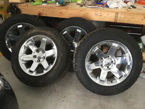 Dodge Ram 20 inch rims and tires