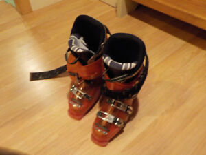Lang Freeride downhill ski boots, men's US size 7