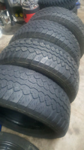 4 - 265 70 R17 tires $40