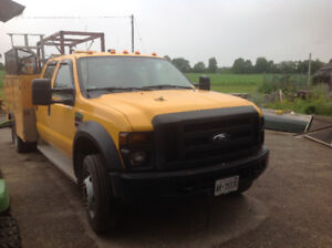 2008 Ford F-550 XL Pickup Truck