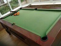 Windsor pool table