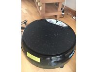 Vibrapower disc - hardly used, great fitness machine