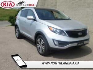 2015 Kia Sportage EX  - Low Mileage