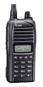 PORTABLE HANDHELD VHF TWO WAY RADIOS - ICOM 3033