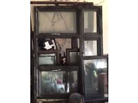 Triple Glazed Window frame Black