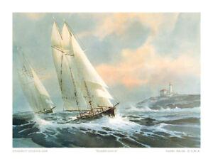 ROBERTSON II SAILING SHIP PRINT
