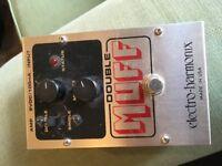 Electro Harmonix Double Muzz fuzz/distortion pedal
