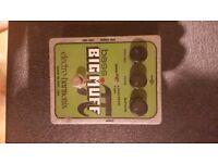 FOR SALE: Electro-Harmonix Bass Big Muff Distortion Pedal £60 ono
