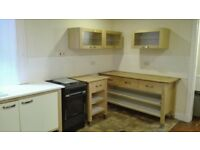 freestanding kitchen units