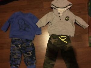 (2) 6 Month Carters Outfits